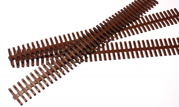 Holz-Schwellenrost, Plastspritzguss