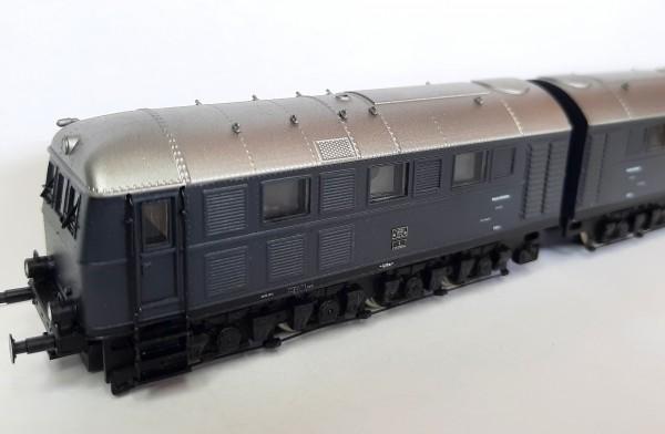 Diesellokomotive der BR V 188 in Ursprungslackierung