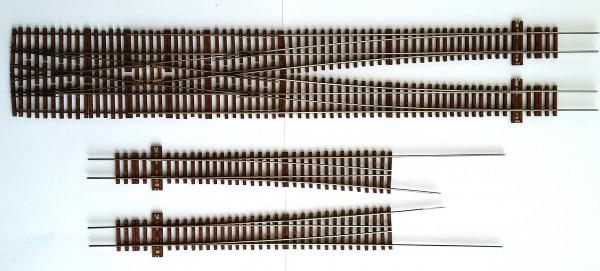 DR EW 190-1:9 Doppelte Gleisverbindung