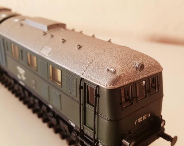 Diesellokomotive der BR V 188 der Epochen II und III